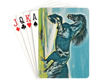 Playing Cards Horse