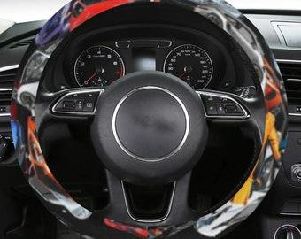 Steering Wheel Covers Cars Print