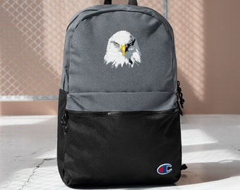 Embroidered Champion Backpack Bald EAgle