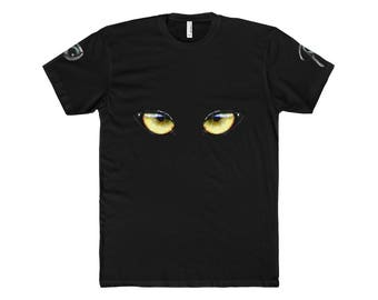 MenS Cotton Crew Tee Eye Of The Tiger
