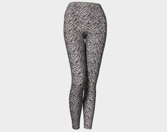 Dusk Grey Yoga Leggings