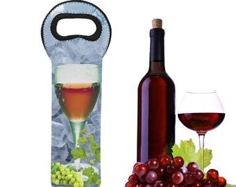 Neoprene Wine Bag Single