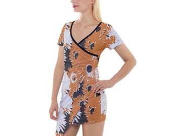 Women's Asymmetric Mini Dress