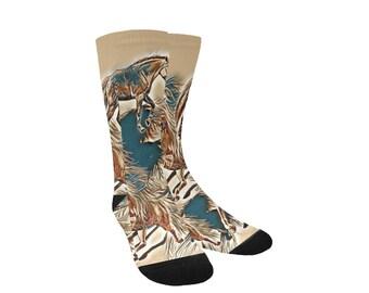 Women's Fairy Horse Custom Socks