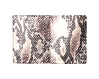 Men's Leather Wallet Snakeskin