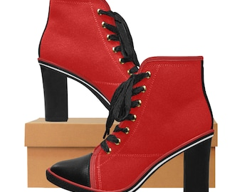 Women's Chunky Heel Ankle Boots RB