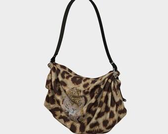 Leopard Origami Tote
