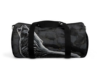 Duffle Bag Howling Wolf