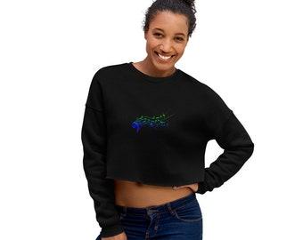 Crop Sweatshirt Music