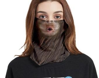 Face Cover Bandana Monkey Kiss
