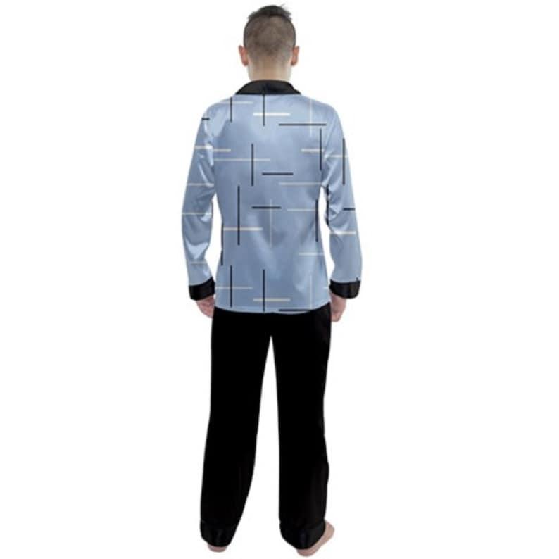 Men/'s Satin Pajama Set