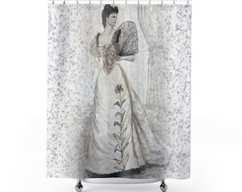 Shower Curtains Victorian Beauty
