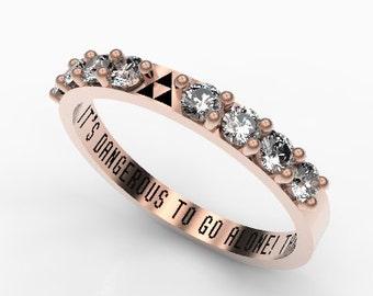 Geek wedding ring Etsy