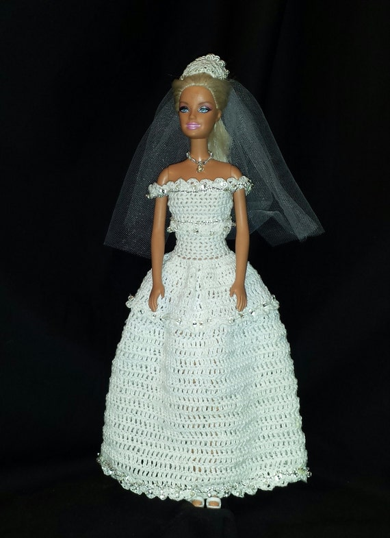 Crochet robe de mariée