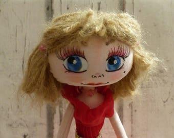 Sacha rag doll (rag doll, handmade doll ooak doll art doll, doll maker)