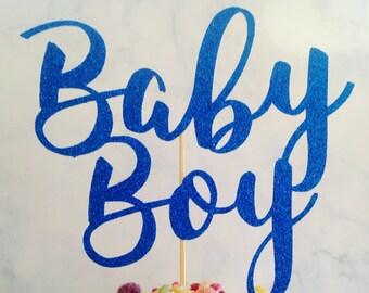 baby boy cake topper, boy baby shower, baby shower cake topper, baby shower cake decoration, boy cake decor