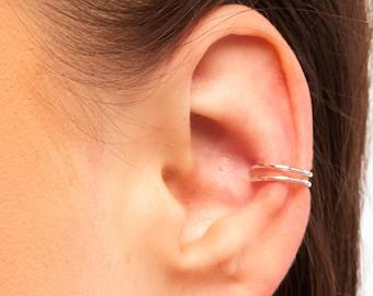 Silver Ear Cuff, Small Ear Cuff, Ear Cuff, Sterling Ear Cuff, Silver Cuff, Band Ear Cuff, Plain Ear Cuff, Thin Ear Cuff, Silver Cuff, SGC2