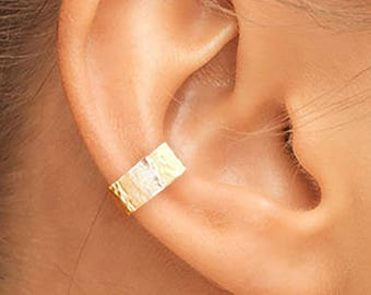 Gold Ear Cuff, Small Ear Cuff, Ear Cuff, Gold Filled Ear Cuff, Silver Cuff, Band Ear Cuff, Plain Ear Cuff, Thin Ear Cuff, Gold Ear Cuffs