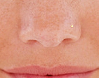 Gold Nose Stud, Tiny Nose Stud, Small Nose Stud, 1mm Nose Stud, Circle Nose Stud, Gold Nose Ring, Gold Filled Nose Stud, Nose Stud