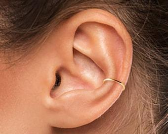 Gold Ear Cuff, Small Ear Cuff, Ear Cuff, Gold Filled Ear Cuff, Silver Cuff, Band Ear Cuff, Plain Ear Cuff, Thin Ear Cuff, Gold Ear Cuff SGC1