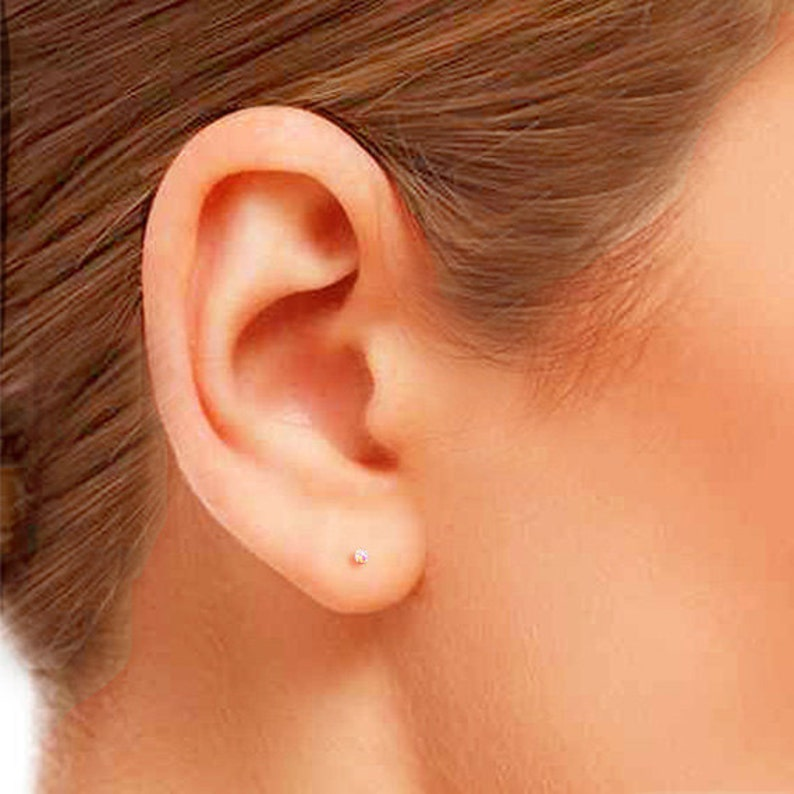 9726c0e7e2fa31 Tiny Opal Stud Earrings Small Opal Stud Earrings Tiny Stud | Etsy