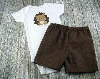 Hedgehog Infant Boys Clothes