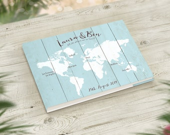 ea9ab9677c9 Travel Wedding Guestbook
