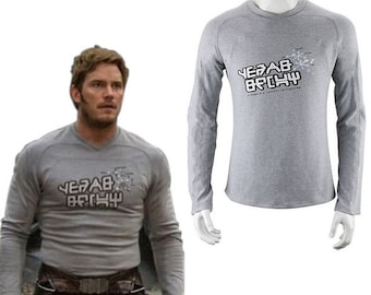 Guardians Of The Galaxy Peter Quill vintage tshirt replica - Star Lord costume cosplay - Guardians Of The Galaxy clothing - gift - LIMITED