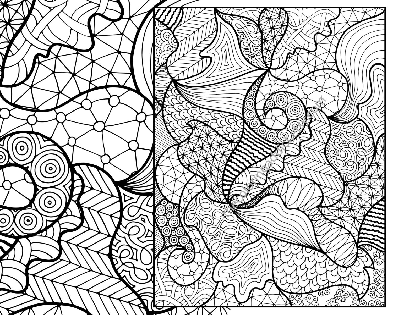 Zentangle Pattern Simple Decorating Ideas