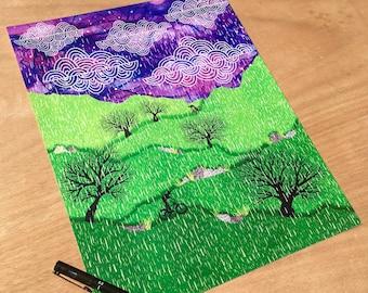 MTB Landscape - Small Print