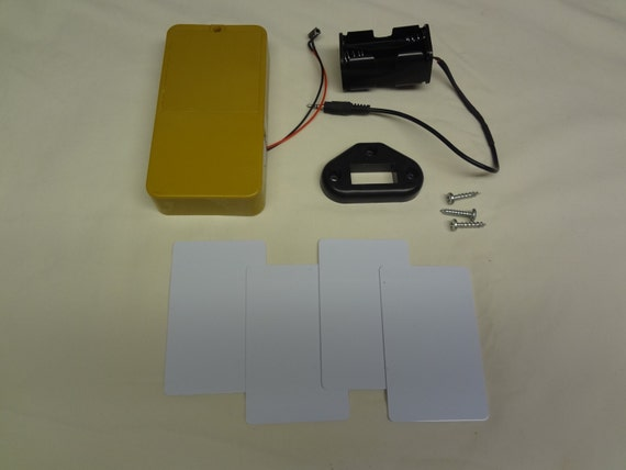 RFID Hardware kit for concealment shelf
