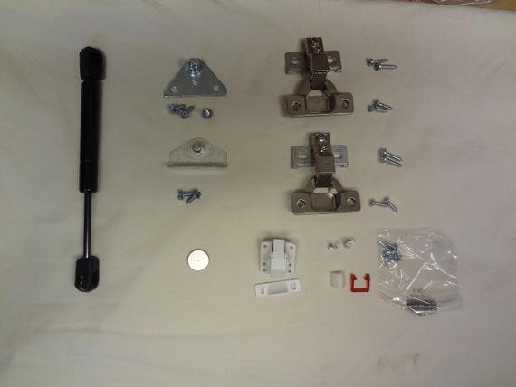 Hardware Kit for Magnetic Locking concealment shelf