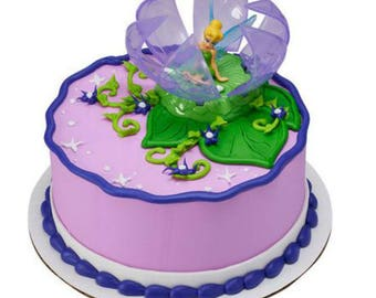 Disney Tinker Bell Candle Set Birthday Party Decoration Cake Topper Tinkerbell