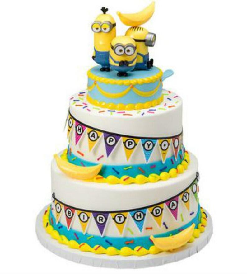 Minions Despicable Me Cake Decoration Signature Decoset