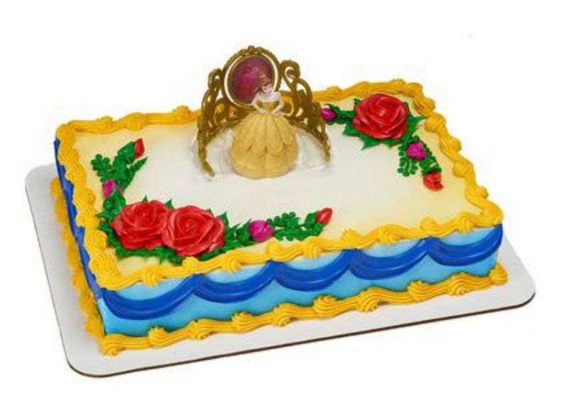 Beauty and the Beast Belle Tiara cake decoration Decoset ...