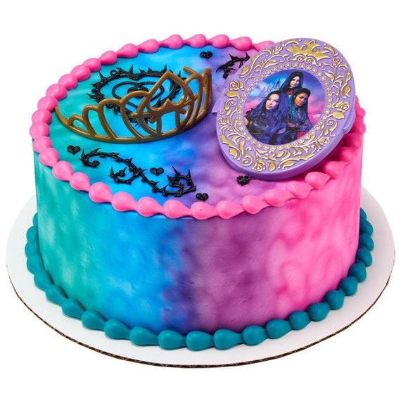 DESCENDANTS Party Edible Cake topper image