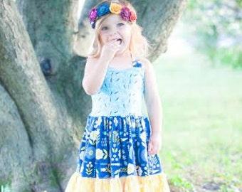Primrose's Princess Dress/Botique Dress/Matilda Jane Style Dress/Girl's Dress