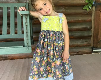 Matilda Jane Style Dress/Botique Dress/Knot Dress