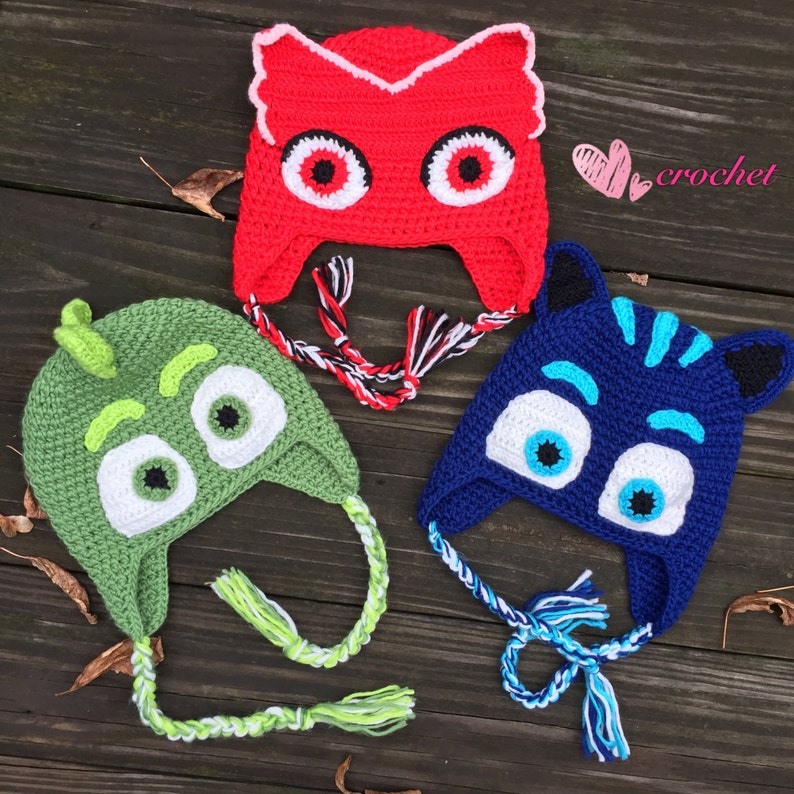 SALEREADY to Ship PJ Masks Hatsbaby hat toddler  a395b8979ca