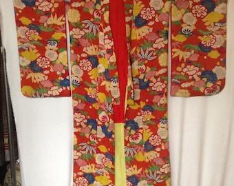 Vintage Kimono all silk