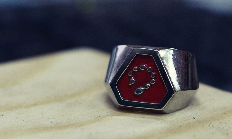 Brotherhood of NOD Signet Ring from Command and Conquer- Videogame  Jewellery - Hand-made Signet Ring - Free Shipping