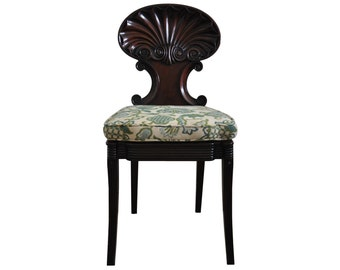 Antique Shell Back Chair (c. 1800s) - Attributed to Gillows of Lancatser