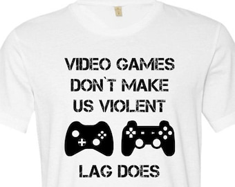 Video Game Lover Shirt Games Tee Gamer T For Him Birthday Gift Husband Tshirt Mens