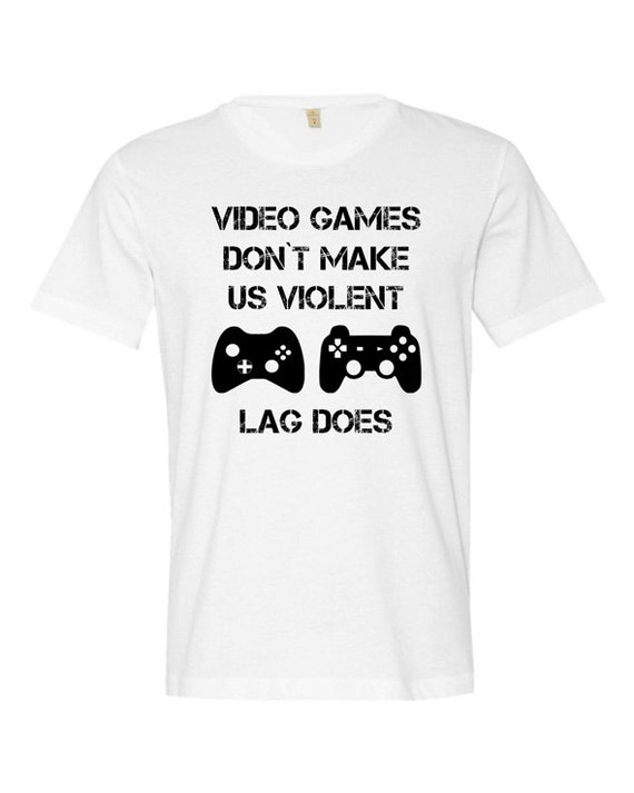 Video Game Lover Shirt Games Tee Gamer T For