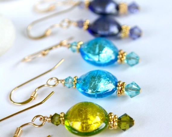 Flower Girl Earring Gift Sets ~ Color Options