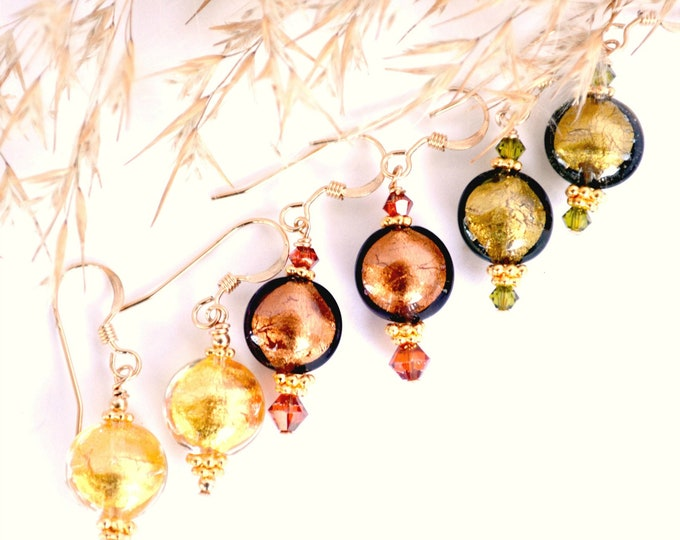 Featured listing image: Murano Glass Earring Sets, Discounts Available