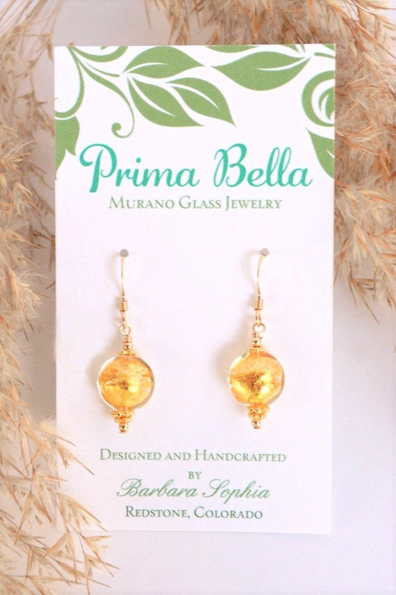 Dainty Gold Earrings | Bridesmaid Jewelry Sets | Thank You Gift Cards