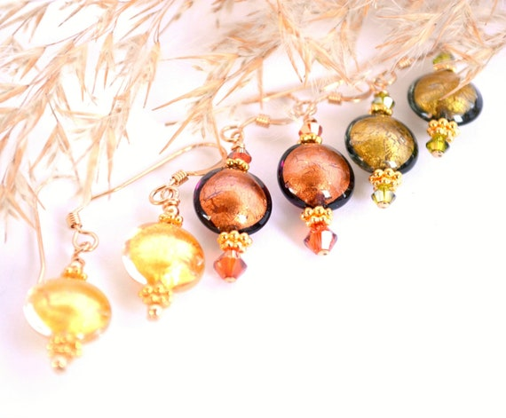 Murano Glass Earring Gift Sets - Quantity Discounts Available