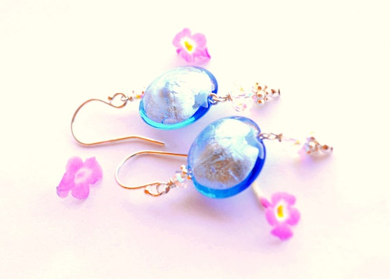 Dusty Blue Earrings