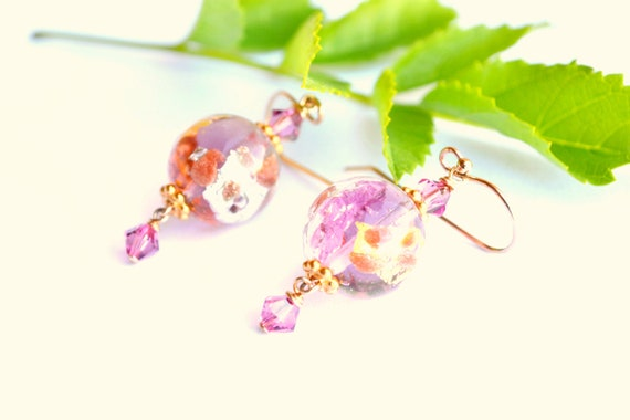 Handblown Glass Earrings